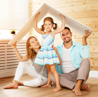 family working with Advanced Home Connect