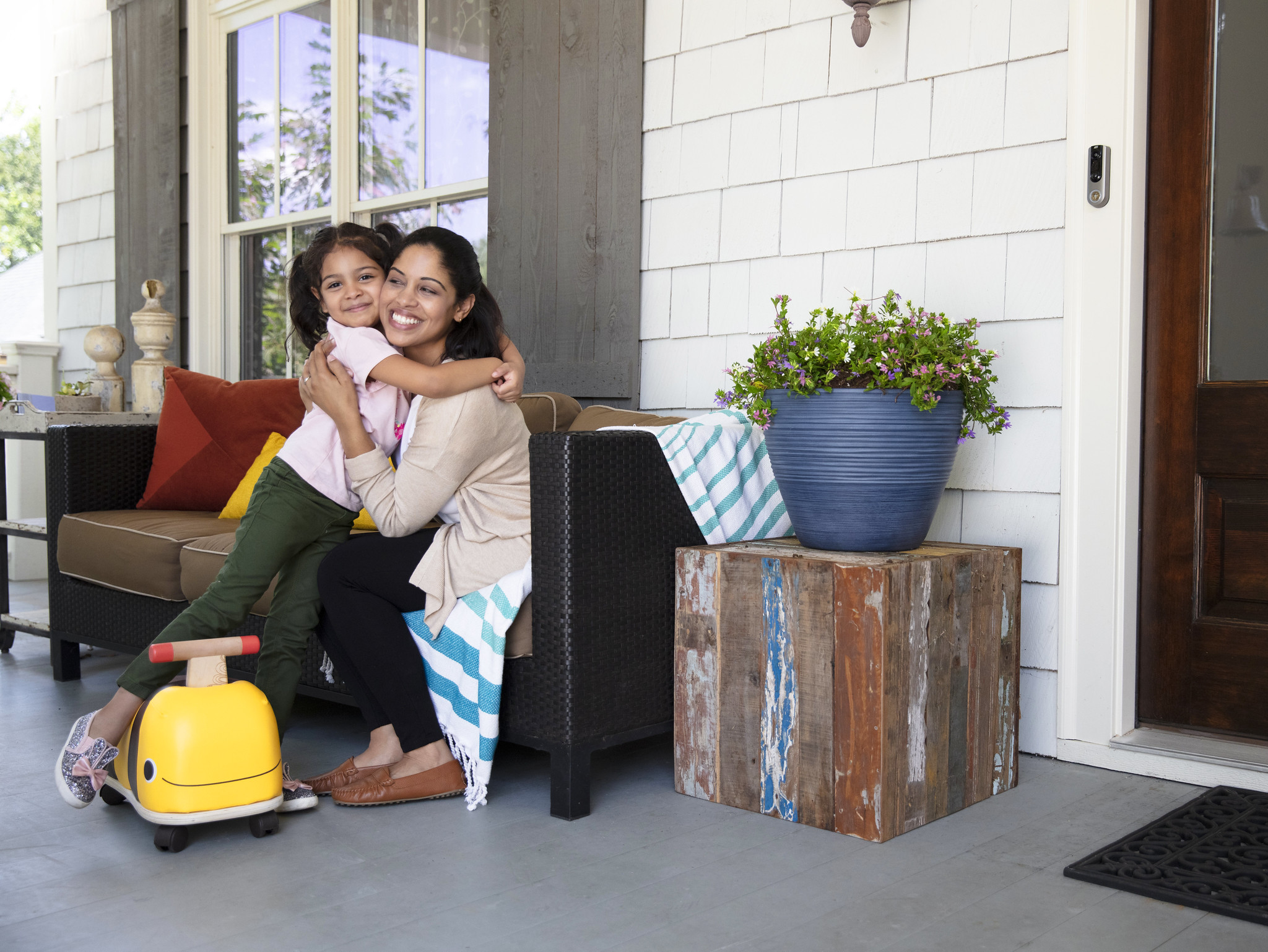 Front Porch with Smart Doorbell